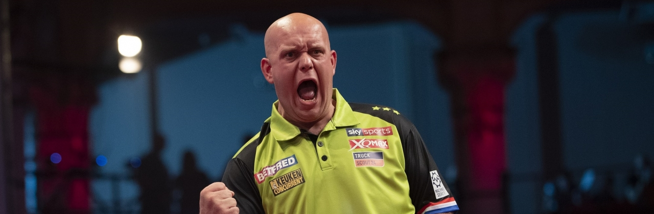 Michael van Gerwen - Betfred World Matchplay (Lawrence Lustig, PDC)