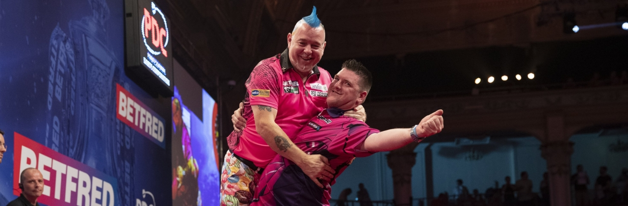 Peter Wright, Daryl Gurney (Lawrence Lustig, PDC)