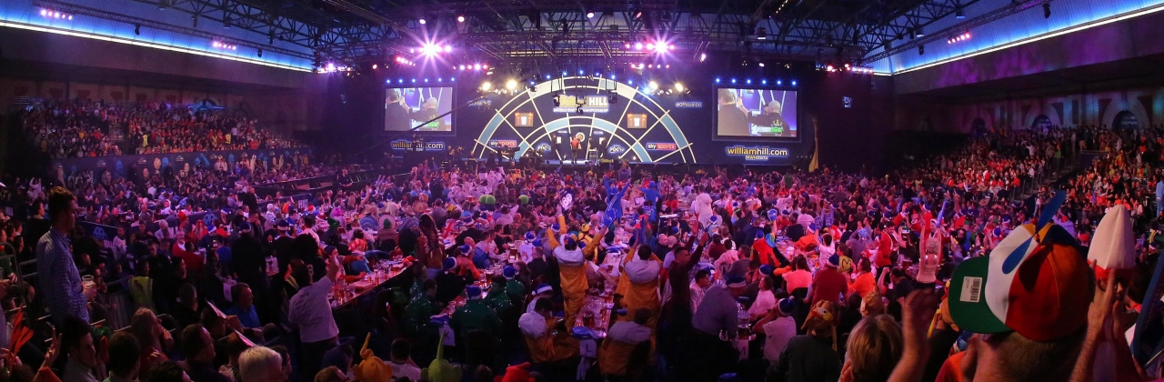 World Championship general view (PDC)