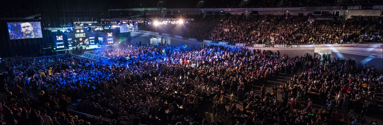 European Championship general view (PDC Europe)