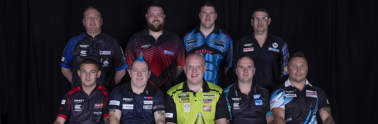 2020 Unibet Premier League players (Lawrence Lustig, PDC)