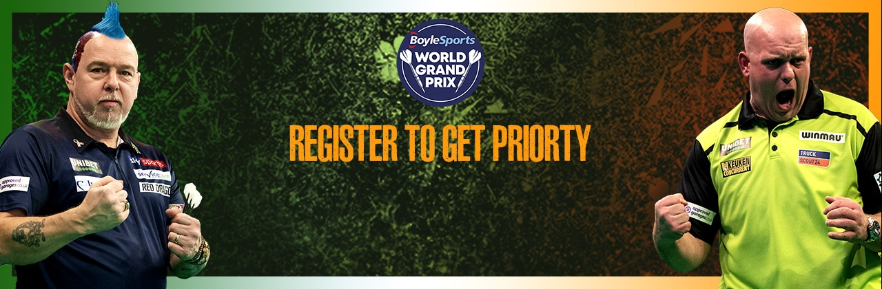 World Grand Prix priority tickets banner