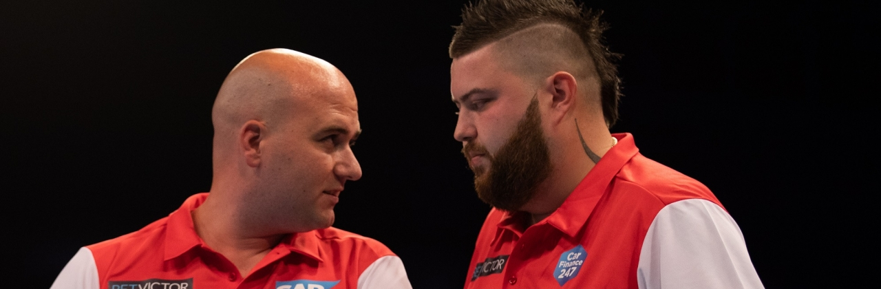 Rob Cross & Michael Smith (PDC Europe)
