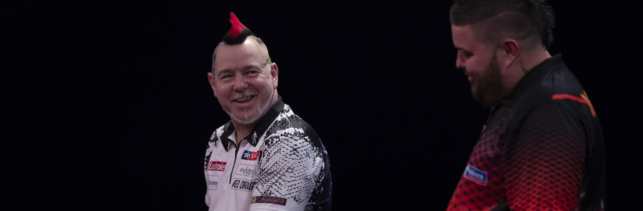 Peter Wright & Michael Smith (Lawrence Lustig, PDC)