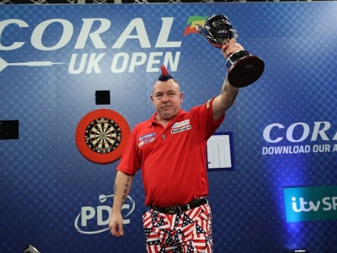 Peter Wright - Coral UK Open (Lawrence Lustig, PDC)