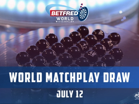 World Matchplay draw