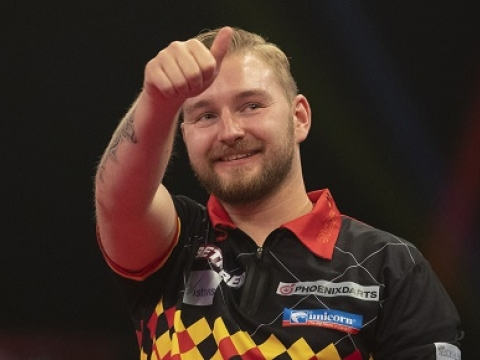 Dimitri Van den Bergh - Betfred World Matchplay (Lawrence Lustig, PDC)