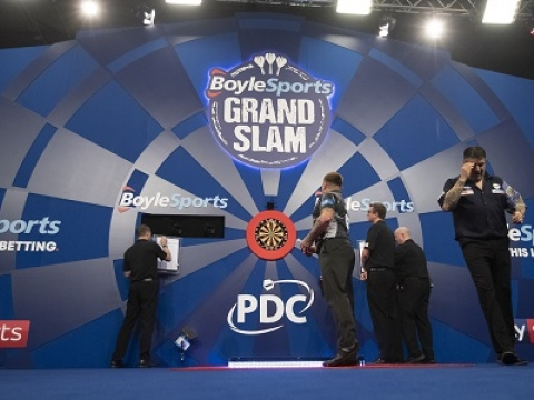 BoyleSports Grand Slam of Darts (Lawrence Lustig, PDC)