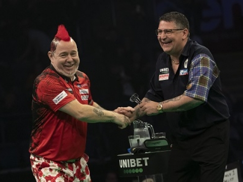 Peter Wright & Gary Anderson - Unibet Premier League (Lawrence Lustig, PDC)