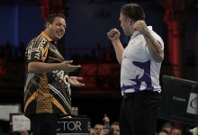 Adrian Lewis & Gerwyn Price - BetVictor World Matchplay (Lawrence Lustig, PDC)