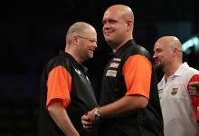 Michael van Gerwen & Raymond van Barneveld - Betway World Cup of Darts (Lawrence Lustig, PDC)