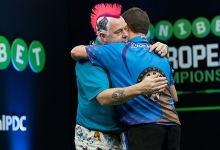 Peter Wright & Jonny Clayton - Unibet European Championship (Kelly Deckers)