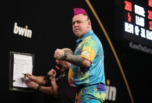 Peter Wright - bwin Grand Slam of Darts (Lawrence Lustig, PDC)