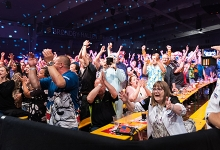 Danish Darts Open crowd (Kelly Deckers, PDC)
