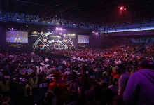 World Darts Championship crowd (Lawrence Lustig, PDC)