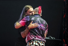 Ryan Searle & Peter Wright (Michael Braunschädel, PDC Europe)