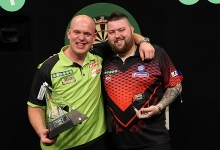 Michael van Gerwen & Michael Smith (Lawrence Lustig, PDC)