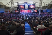 Butlin's Minehead Resort darts general view (PDC)