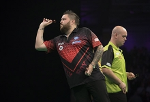 Michael Smith, Michael van Gerwen (Lawrence Lustig, PDC)