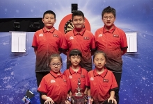 Junior Chinese Players at the Betfred World Matchplay (Lawrence Lustig, PDC)