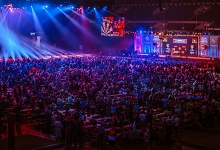 German Darts Masters general view (PDC)
