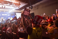 US Darts Masters crowd (PDC)