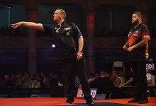 Glen Durrant, Michael Smith (Chris Dean, PDC)