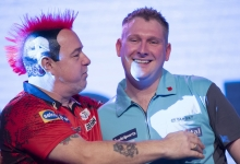 Peter Wright, Ryan Harrington (Lawrence Lustig, PDC)