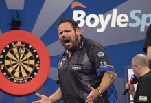 Adrian Lewis - BoyleSports Grand Slam of Darts (Lawrence Lustig, PDC)