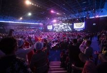 World Championship general view (Lawrence Lustig, PDC)