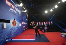 World Matchplay stage